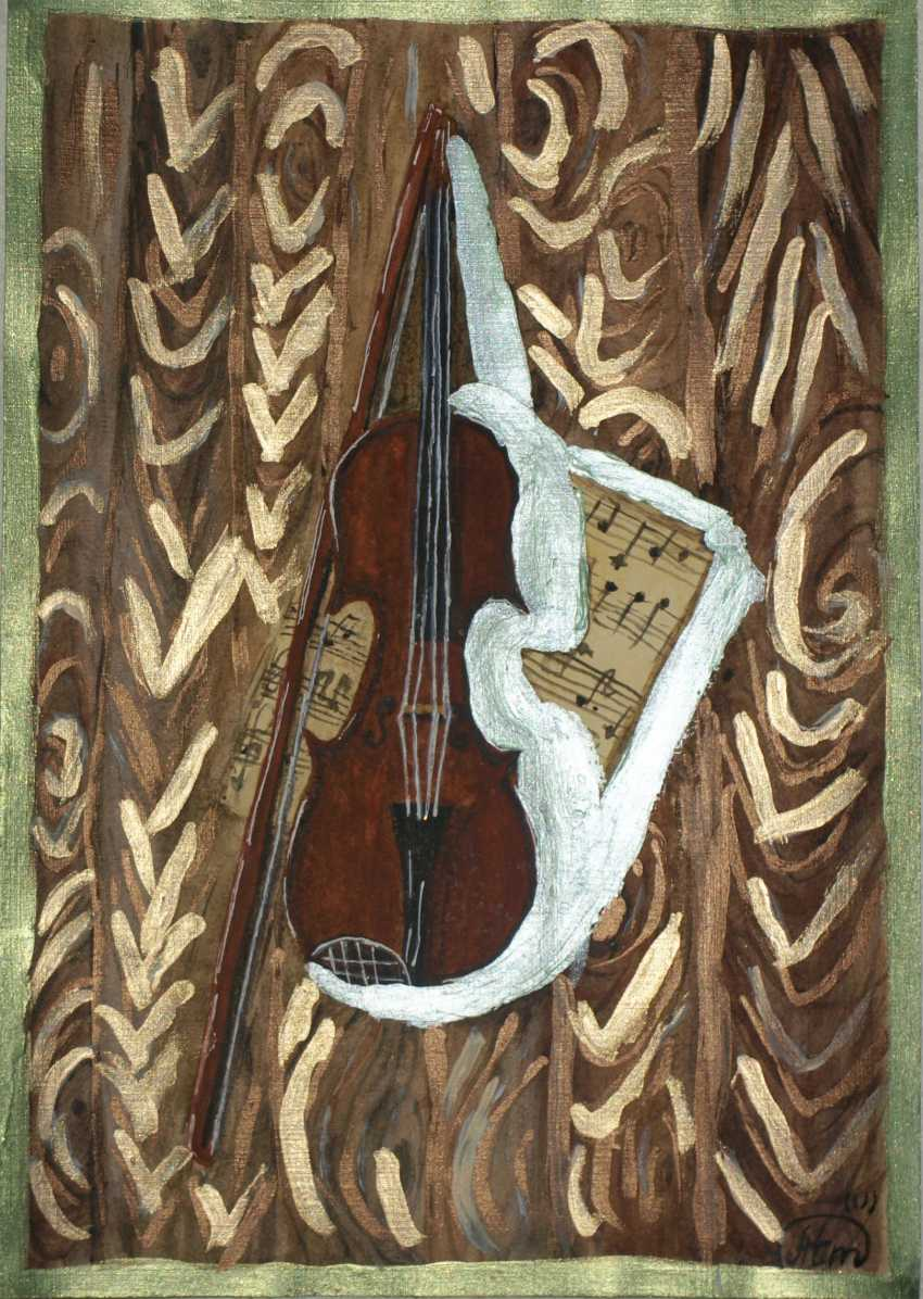 """Tatiana Iurasova. Das Bild """"die Zauberhaften Klänge der Violine"""" - Foto 2"""