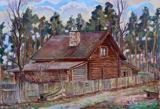 Олег Литвиненко. Дом в лесу. - фото 1
