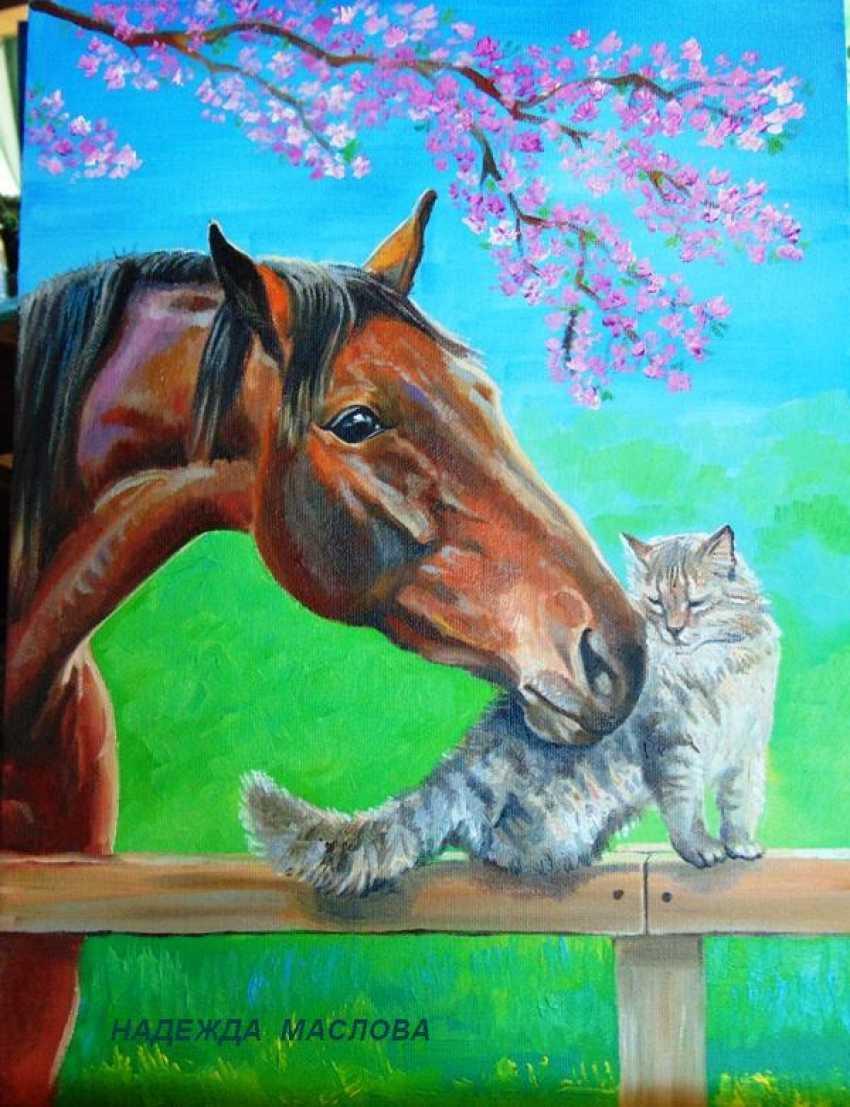 """Nadezhda Griniko. """"friendship"""" - photo 1"""