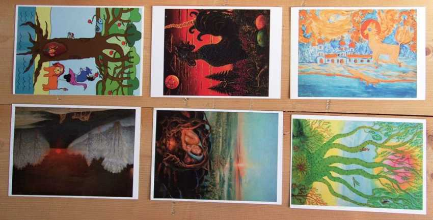 """Alekcandr emelyanov. """"Postcards """" - photo 2"""