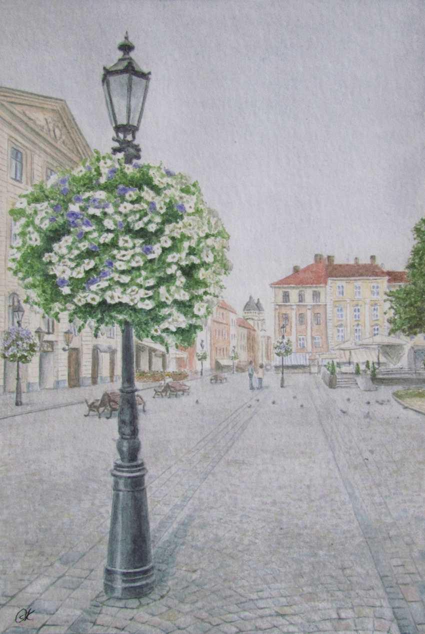 """Olha Krasko. """"Charming Lviv"""" - photo 1"""