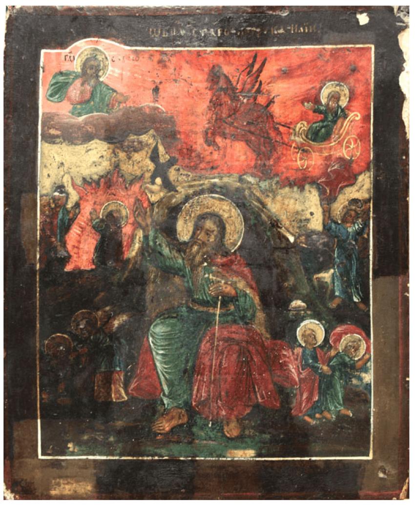 The fiery ascent of prophet Elijah - photo 1