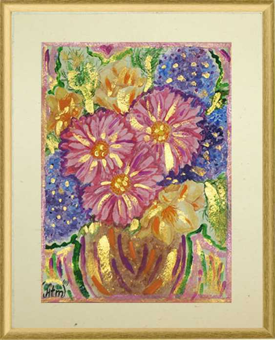 "Tatiana Iurasova. The painting ""a Basket of magic flowers"" - photo 1"