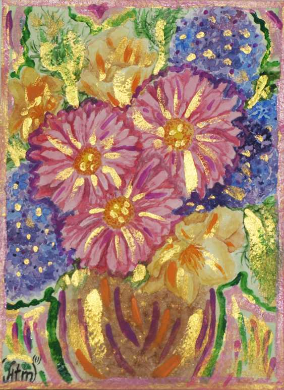 "Tatiana Iurasova. The painting ""a Basket of magic flowers"" - photo 2"
