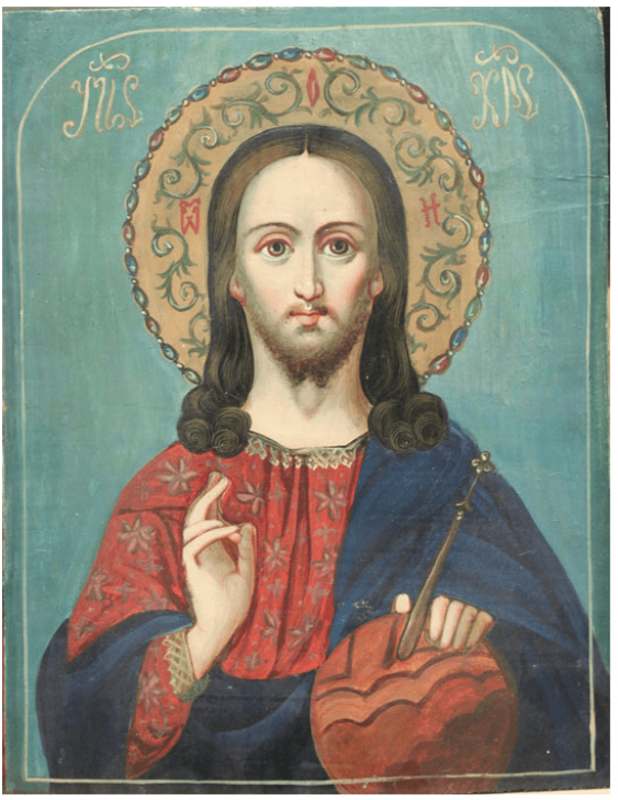 The icon of the Lord with the Sphere - photo 1