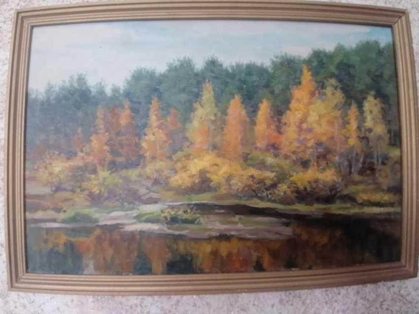 Mahmut Zaripov. Autumn - photo 1