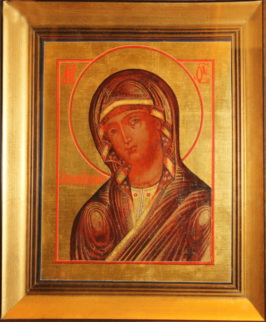 """The Image Of The Mother Of God """"Agniveena"""" - photo 1"""
