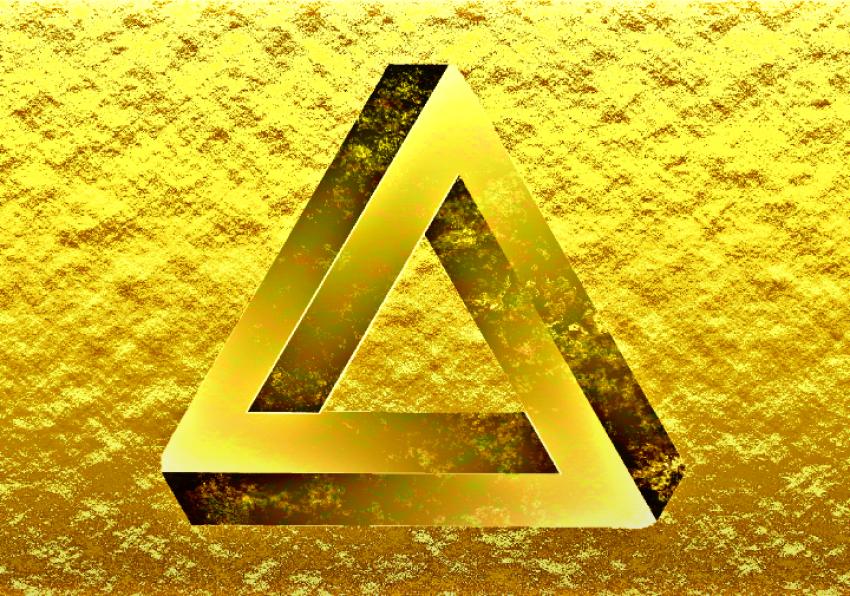Golden illusion - photo 1