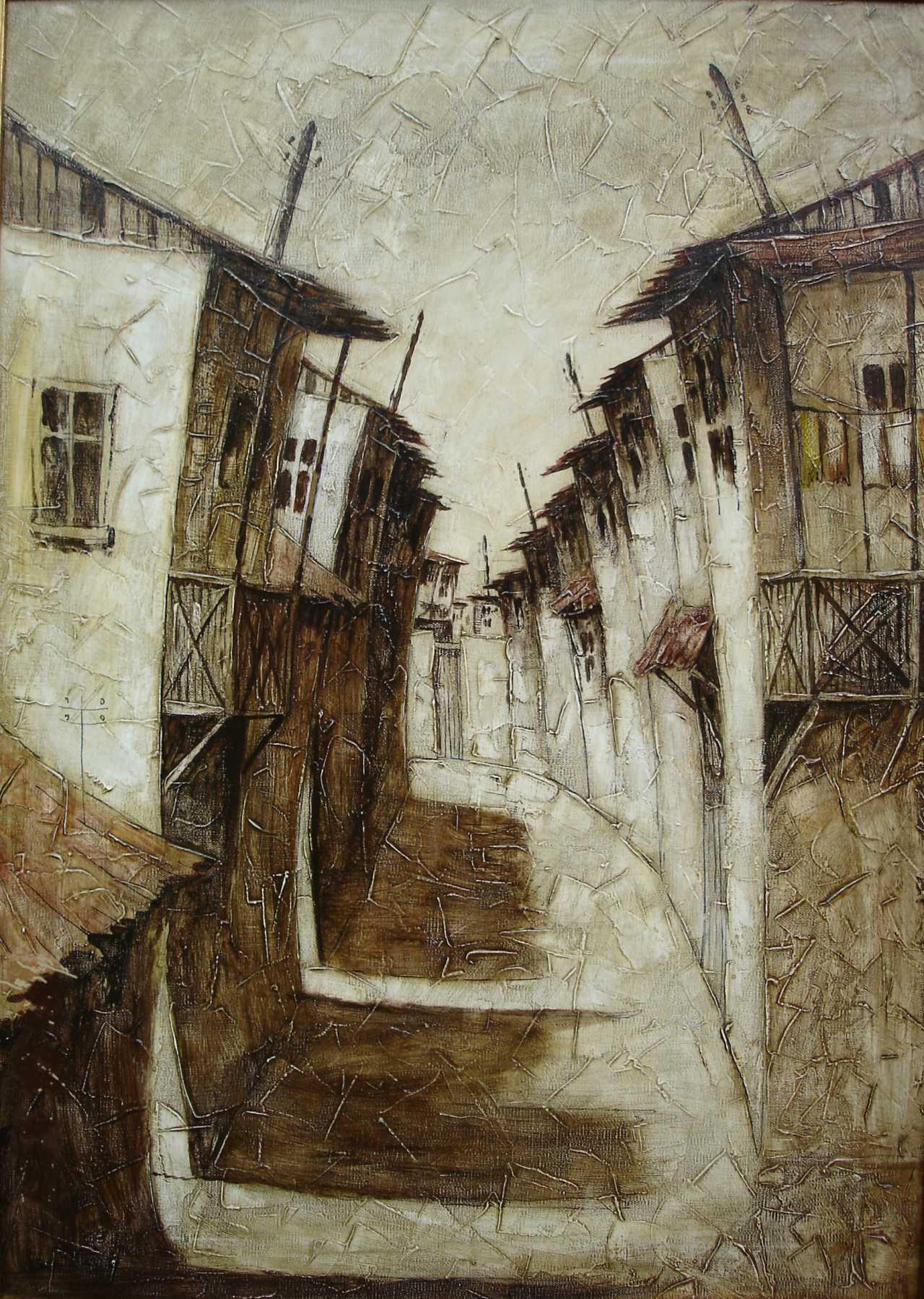 Grant Sukiasian Alte Stadt In Armenien In Den Farben Artikel 27058