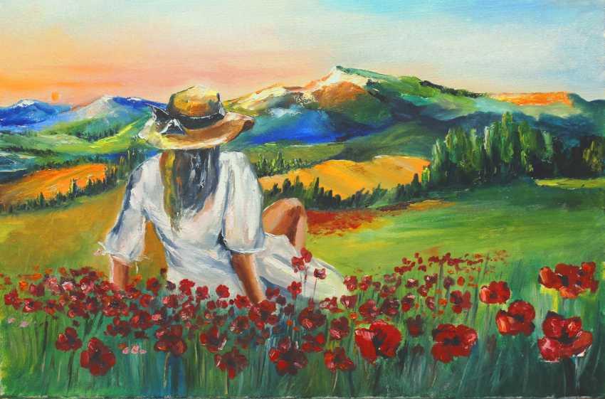 Eduard Ivanov. Das Mädchen und die Sonne - Foto 1