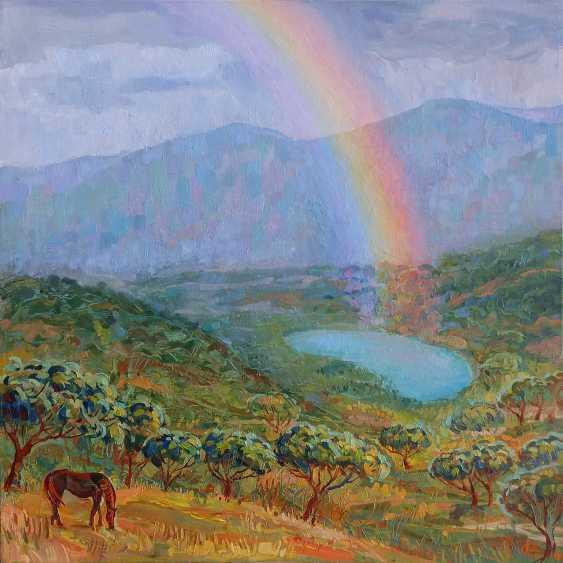 """Irina Andreieva. """"Rainbow morning"""" - photo 1"""