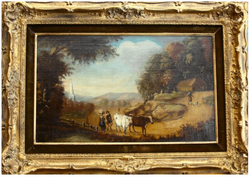 """Dutch landscape""of the NINETEENTH century - photo 1"