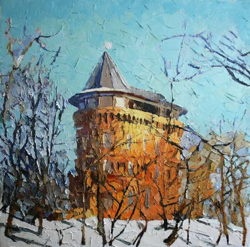 """Mikhail Rudnik. """"The tower in the winter"""" - photo 1"""