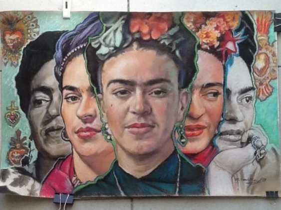 Mikhai Gezhiky. Multifaceted Frida. - photo 1