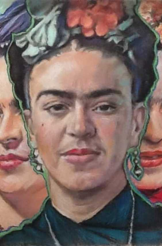 Mikhai Gezhiky. Multifaceted Frida. - photo 2