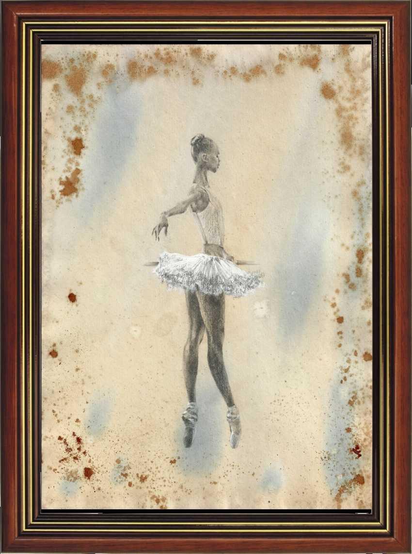 Natasha Mishareva. Ballet, le ballet, le ballet... le Dessin, les travaux manuels, 2020г Auteur - Мишарева Natalia - photo 4