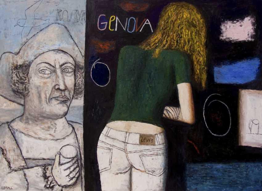 """tamara mamaeva. """"Nacht in Genua"""" - Foto 1"""