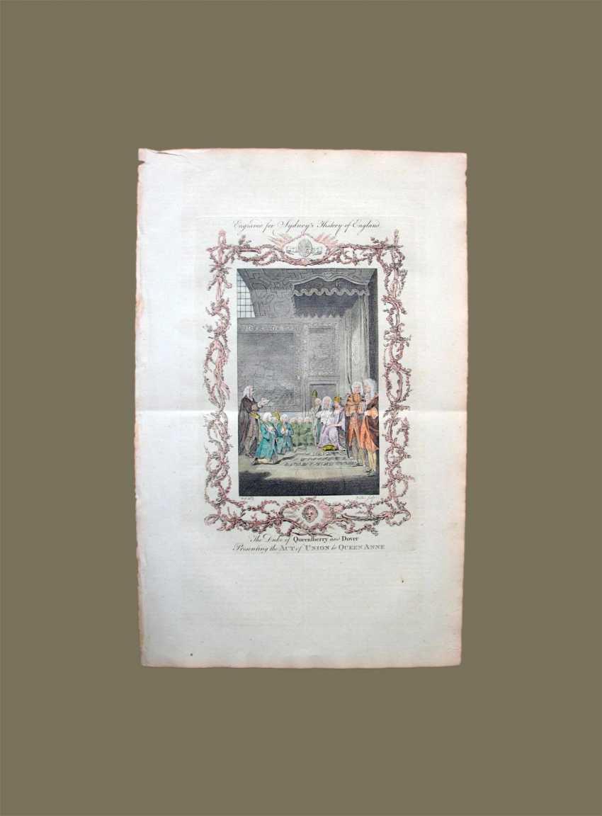 Le duc de Куинберри et Douvres est le traité d'unification de la reine Anne. Sydney, le temple - photo 1