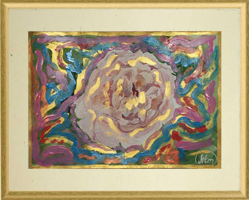 "Tatiana Iurasova. The painting ""Radiant rose"" - photo 1"