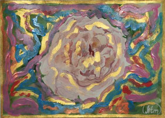 "Tatiana Iurasova. The painting ""Radiant rose"" - photo 2"