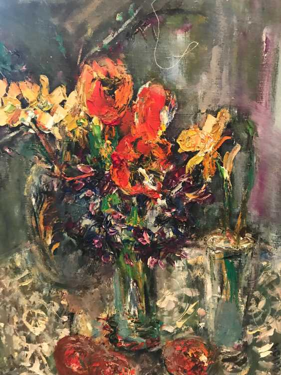 "Iraida Ciobanu. ""Still life with flowers"" - photo 1"