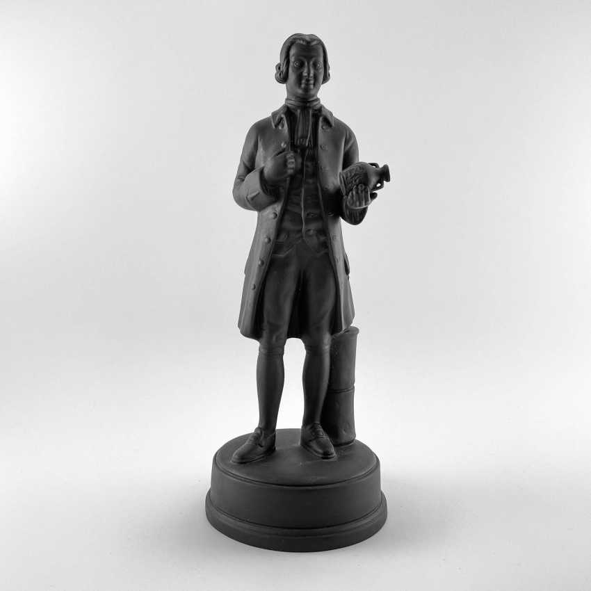 Statue of the founder of Wedgwood, England, biscuit, 1929-1969 years, perfect condition - photo 1