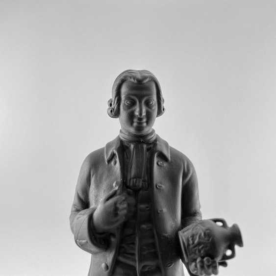 Statue of the founder of Wedgwood, England, biscuit, 1929-1969 years, perfect condition - photo 5