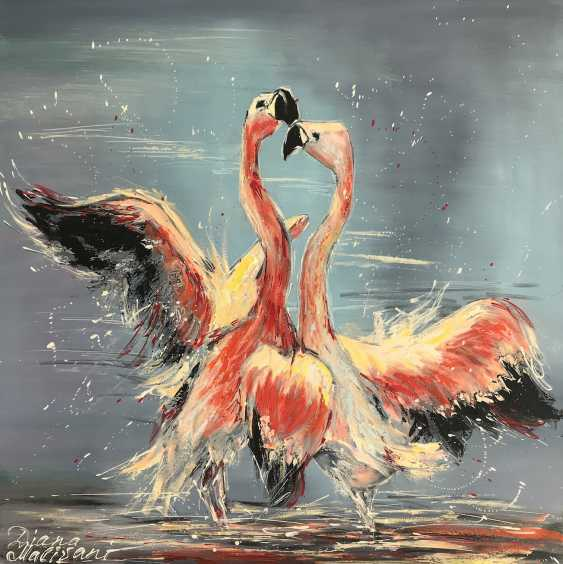 Diana Malivani. Dance of the pink flamingos - photo 1