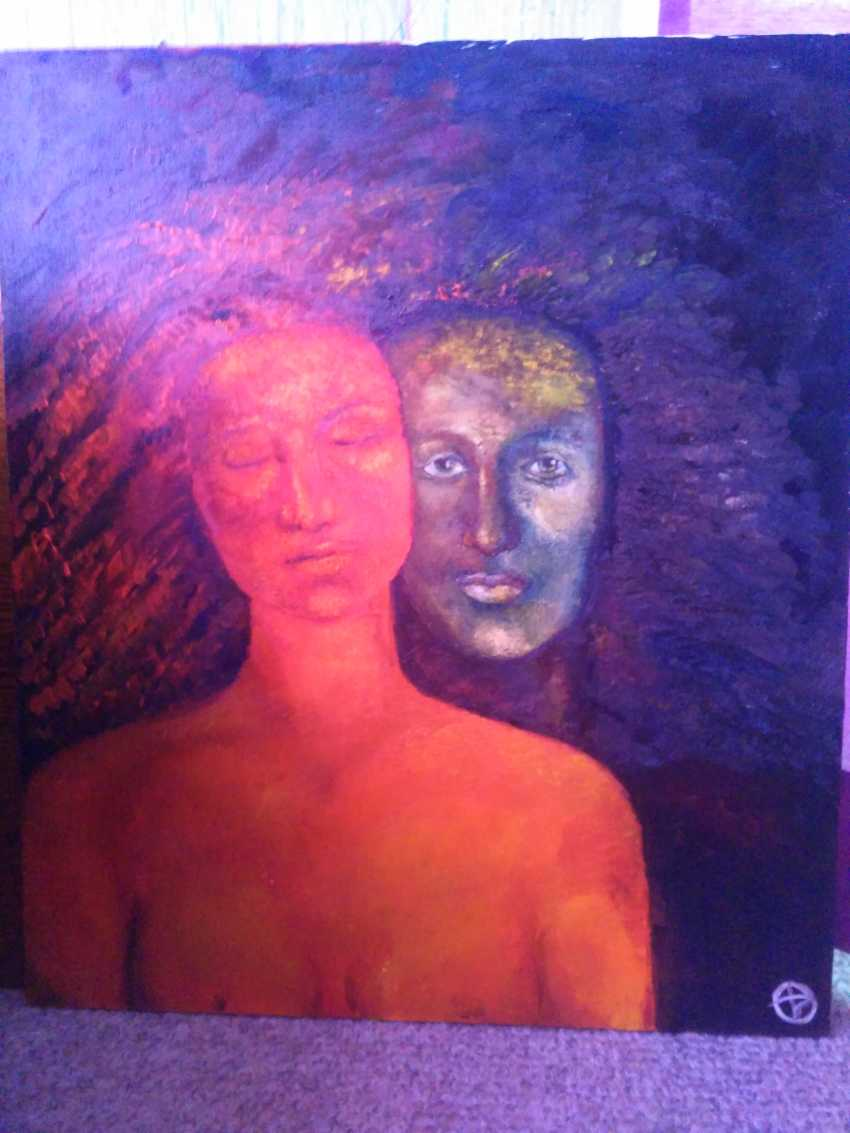 "Olesya SOBOLEVA. the painting ""Whisper"" - photo 1"
