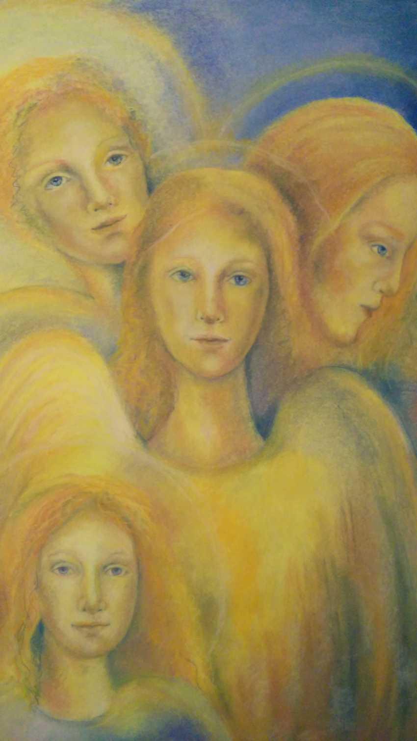 "Olesya SOBOLEVA. the painting ""Angels"" - photo 1"