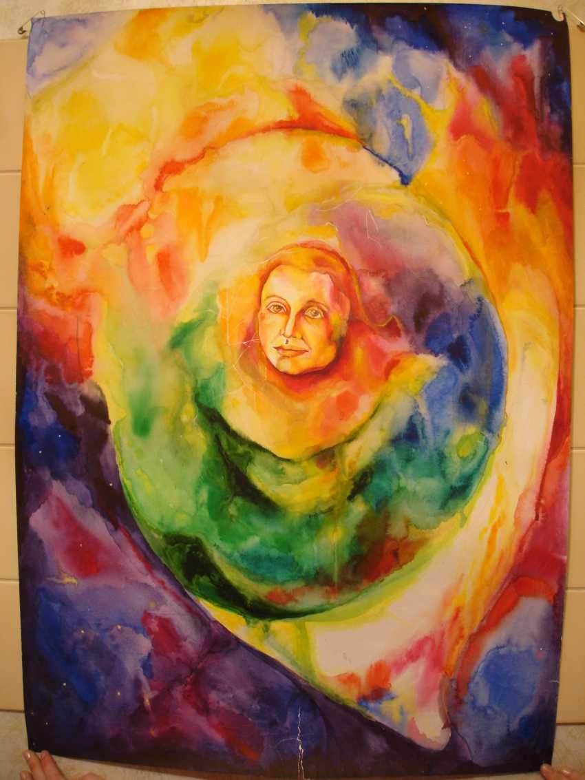 "Olesya SOBOLEVA. ""The eye of the universe"" - photo 1"