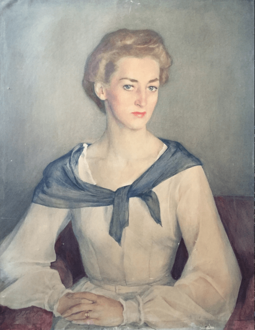 Portrait of Princess Irina Obolensky 1948 - photo 1