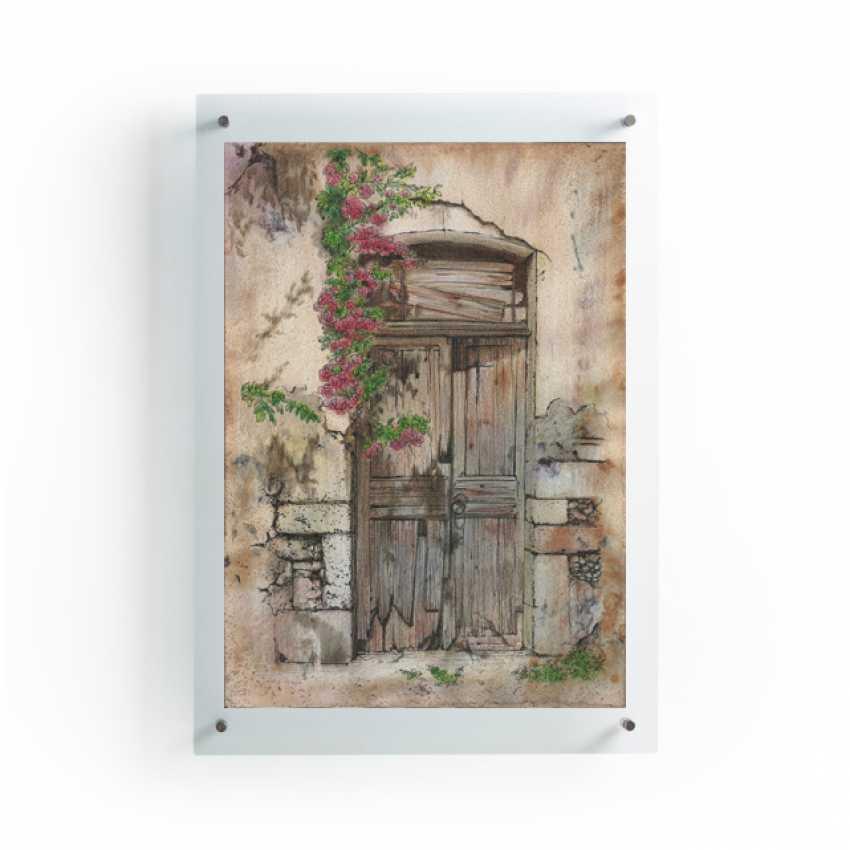 Natasha Mishareva. The old courtyard. Handmade. 2020. The Author - Natalia Pisareva - photo 3