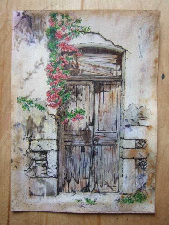 Natasha Mishareva. The old courtyard. Handmade. 2020. The Author - Natalia Pisareva - photo 4