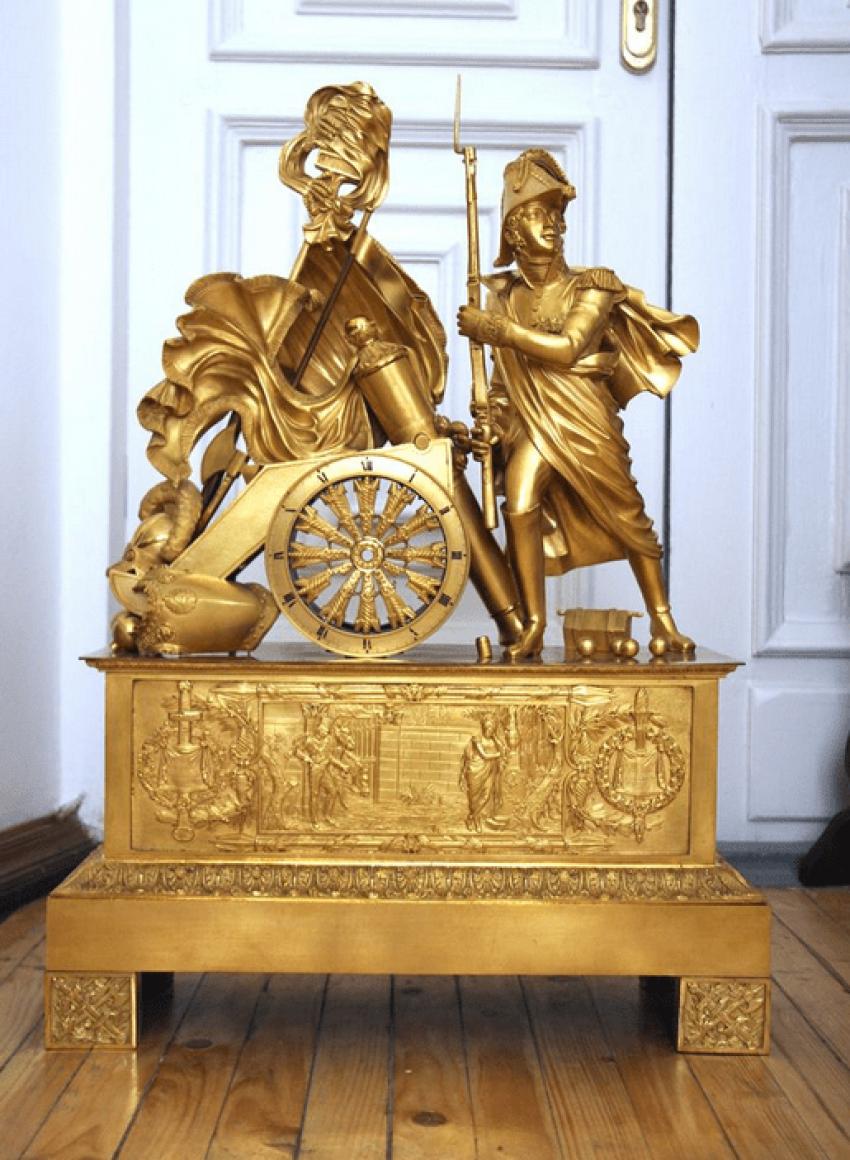 Mantel clock France,начало19 century - photo 1