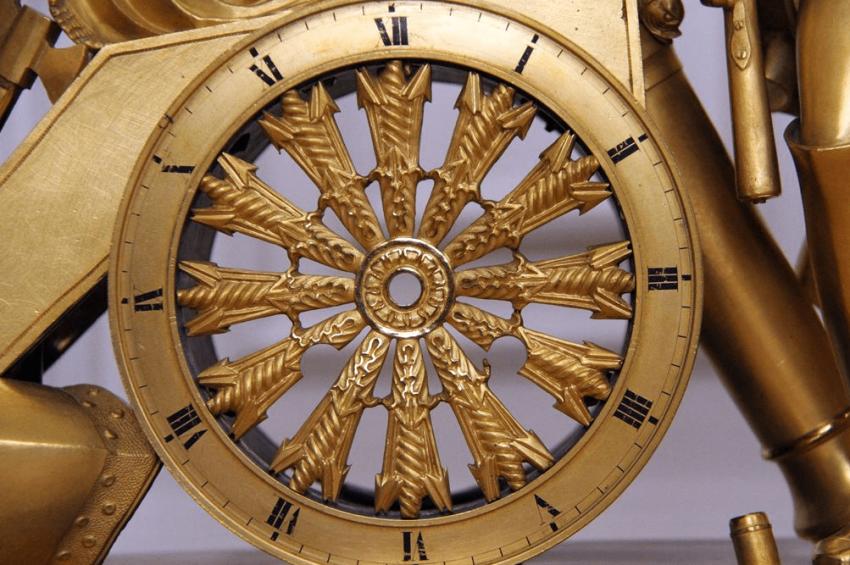 Mantel clock France,начало19 century - photo 2