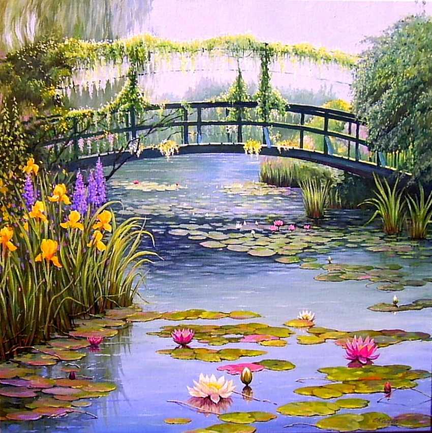 Sergiy Kolba. Monet bridge (my version) - photo 1