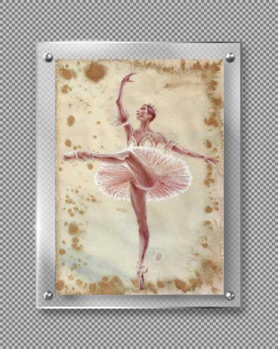 Natasha Mishareva. Ballet, ballet, ballet... drawing, handwork, 2020 Author - Pisareva Natalia - photo 1