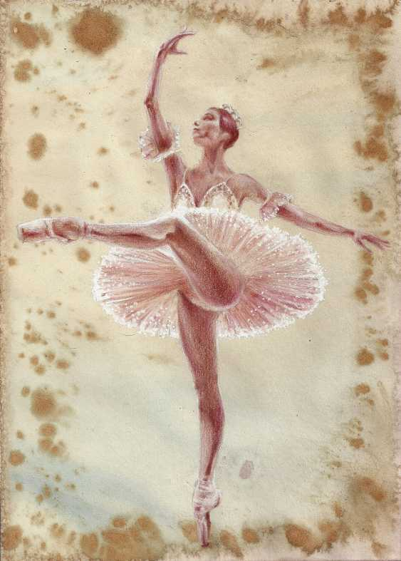 Natasha Mishareva. Ballet, ballet, ballet... drawing, handwork, 2020 Author - Pisareva Natalia - photo 2