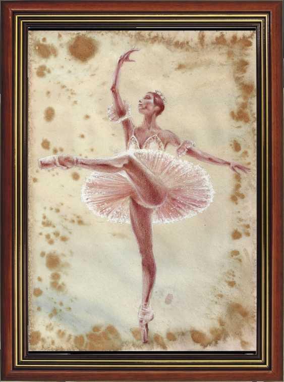 Natasha Mishareva. Ballet, ballet, ballet... drawing, handwork, 2020 Author - Pisareva Natalia - photo 3