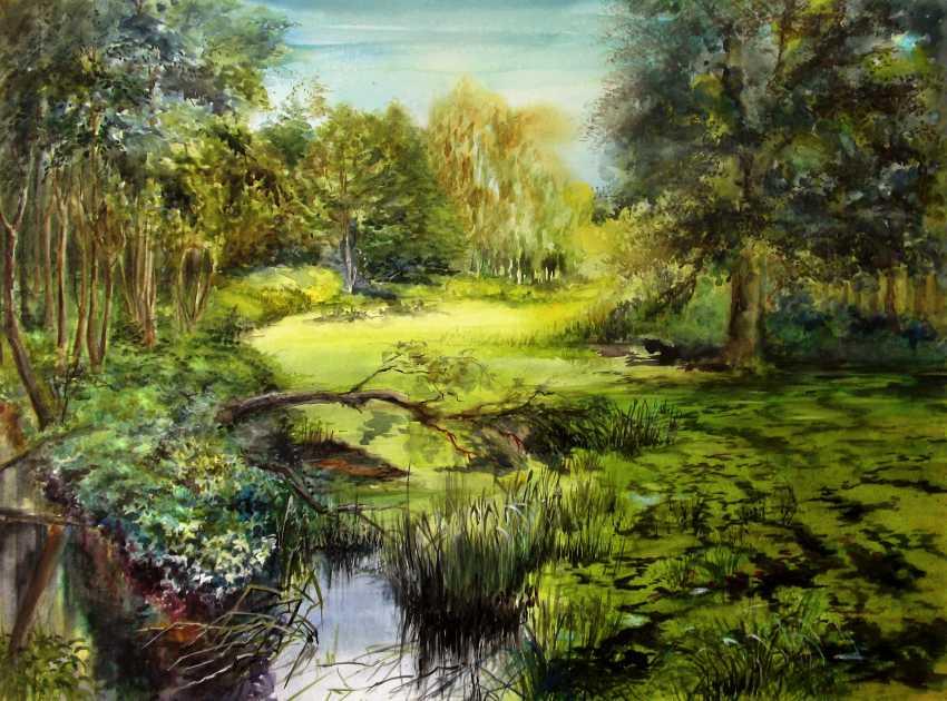 Nina Latushko. Summer in the swamp - photo 1