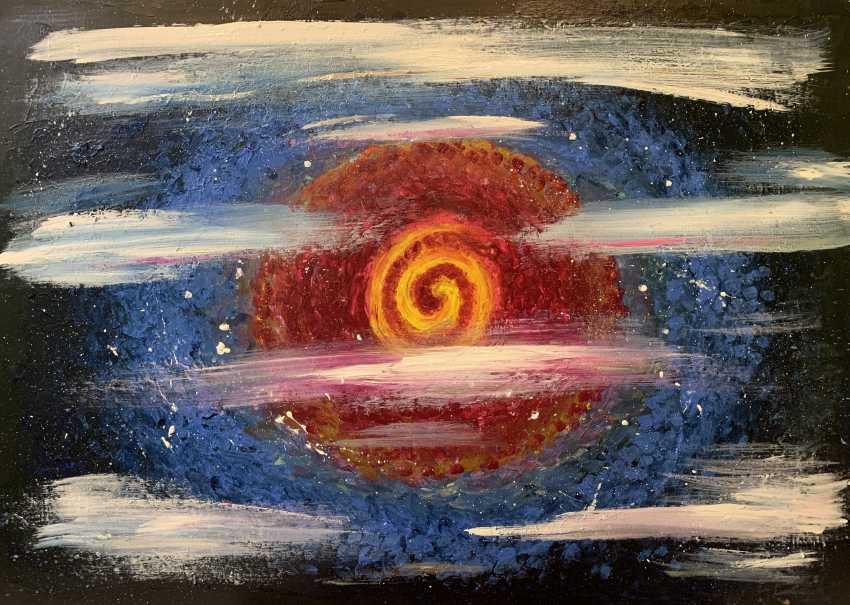"Oksana Petrenko. ""Spiral universe"" - photo 3"