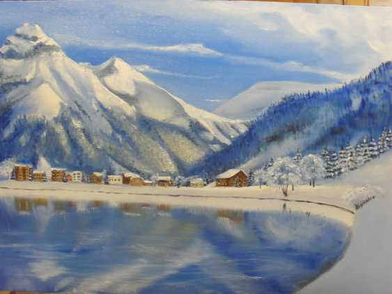 "Oksana Petrenko. ""Winter in mountains"" - photo 1"
