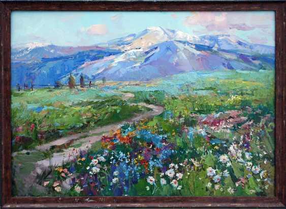 """Alina Slavgorodskaya. """"Spring in the Carpathians"""" - photo 1"""