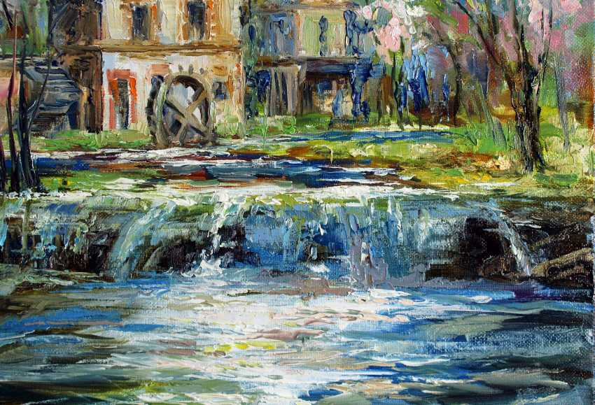 Marina Kozlovska. A small waterfall - photo 4