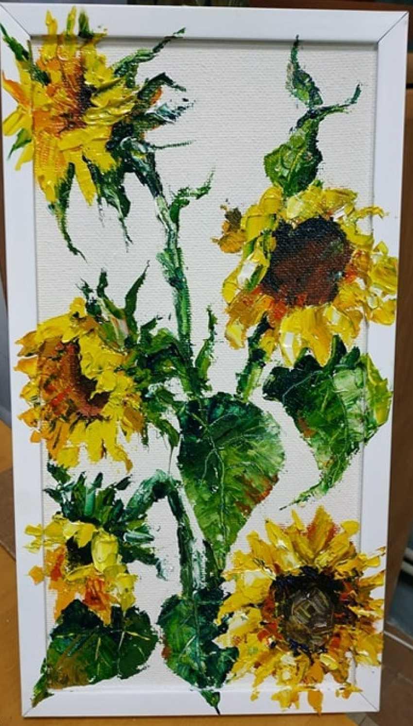 alla mykhalchuk. Sunflowers - photo 1