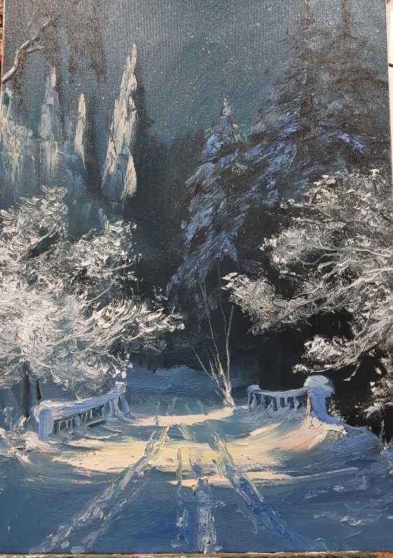 Marina Lagutina. Winter forest - photo 1