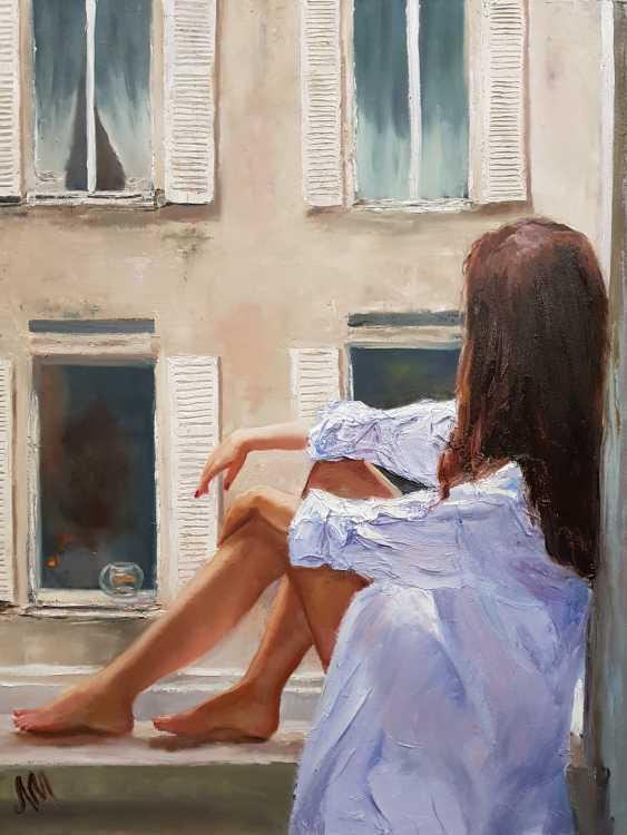 Marina Lagutina. The girl at the window - photo 1