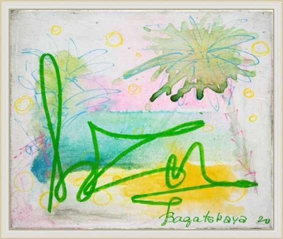 Nataliia Bahatska. Die Palmen - Foto 3