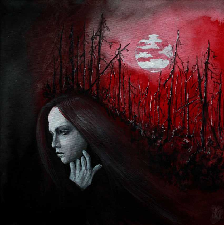 Natalie Ina. The eye of red night - photo 1